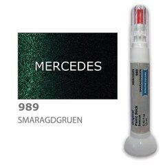 Dažų korektorius įbrėžimų taisymui MERCEDES 989 - SMARAGDGRUEN 12 ml kaina ir informacija | Automobiliniai dažai | pigu.lt