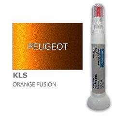 Карандаш-корректор для устранения царапин PEUGEOT KLS - ORANGE FUSION 12 ml цена и информация | Автомобильная краска | pigu.lt
