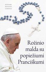 Rožinio malda su popiežiumi Pranciškumi kaina ir informacija | Dvasinės knygos | pigu.lt
