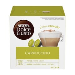 Kava NESCAFE DOLCE GUSTO Cappuccino, 16 kaps. kaina ir informacija | Kava, arbata | pigu.lt