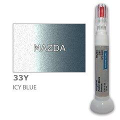 Карандаш-корректор для устранения царапин MAZDA 33Y - ICY BLUE 12 ml цена и информация | Автомобильная краска | pigu.lt