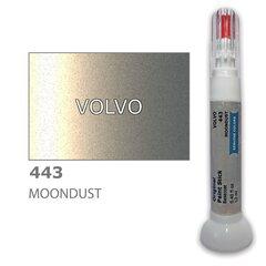 Карандаш-корректор для устранения царапин VOLVO 443 - MOONDUST 12 ml цена и информация | Автомобильная краска | pigu.lt