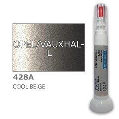 Карандаш-корректор для устранения царапин OPEL/VAUXHALL 428A - COOL BEIGE 12 ml цена и информация | Автомобильная краска | pigu.lt