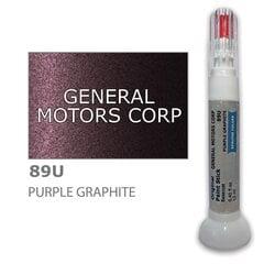 Dažų korektorius įbrėžimų taisymui GENERAL MOTORS CORP 89U - PURPLE GRAPHITE 12 ml kaina ir informacija | Automobiliniai dažai | pigu.lt