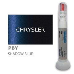 Dažų korektorius įbrėžimų taisymui CHRYSLER PBY - SHADOW BLUE 12 ml kaina ir informacija | Automobiliniai dažai | pigu.lt