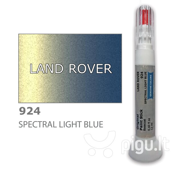 Dažų korektorius įbrėžimų taisymui LAND ROVER 924 - SPECTRAL LIGHT BLUE 12 ml