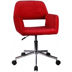 Biuro kėdė Nore FD-22, raudona kaina ir informacija | Biuro kėdės | pigu.lt