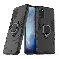 TakeMe Armor back cover case with stand / finger ring / magnet element for car holder for Samsung Galaxy S20 (G980) Black kaina ir informacija | Telefono dėklai | pigu.lt