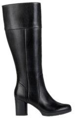 Aulinukai moterims Geox Aanylla Mid, juodi kaina ir informacija | Aulinukai, ilgaauliai batai moterims | pigu.lt