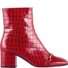 Aulinukai moterims Hogl Audfey, raudoni kaina ir informacija | Aulinukai, ilgaauliai batai moterims | pigu.lt
