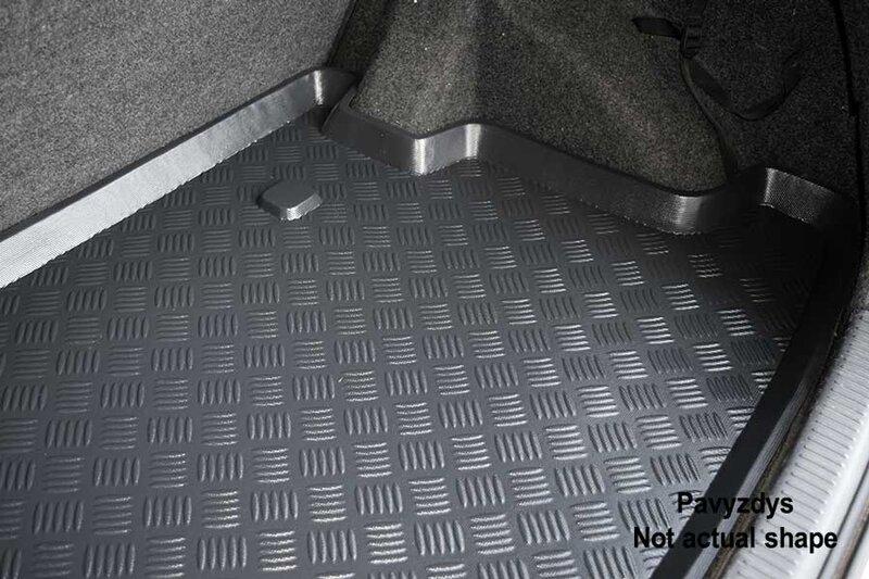 Bagažinės kilimėlis Porsche Cayenne 2002-2010 /10001