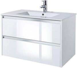 Apatinė vonios spintelė su praustuvu Defra Sowa 80, balta kaina ir informacija | Apatinė vonios spintelė su praustuvu Defra Sowa 80, balta | pigu.lt