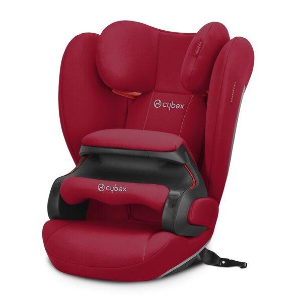 Cybex automobilinė kėdutė Pallas B-fix, 9-36 kg, Dynamic red kaina ir informacija | Autokėdutės | pigu.lt