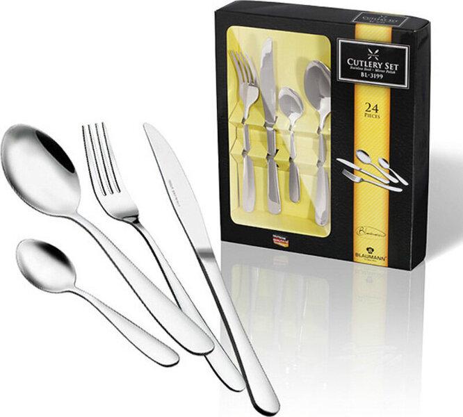Blaumann stalo įrankių rinkinys Gourmet Line, 24 dalių