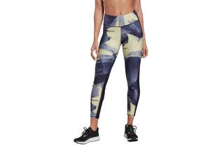 Sportinės kelnės moterims Reebok Running Essentials AOP Tight W FJ4000, 64526 kaina ir informacija | Sportinė apranga moterims | pigu.lt