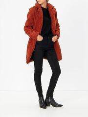 Puspaltis moterims Noisy May, raudonas kaina ir informacija | Paltai moterims | pigu.lt