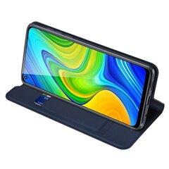 Чехол для телефона Dux Ducis Skin Pro для Xiaomi Redmi Note 9, темно-синий цена и информация | Чехлы для телефонов | pigu.lt