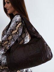 Rankinė moterims, ruda kaina ir informacija | Moteriškos rankinės | pigu.lt