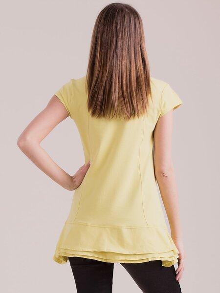 Tunika moterims, geltona kaina