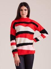 Megztinis moterims, raudonas kaina ir informacija | Megztiniai moterims | pigu.lt
