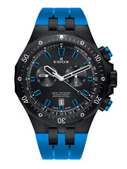 Мужские часы Edox Delfin 10109 37NBUCA NIBU цена и информация | Мужские часы | pigu.lt