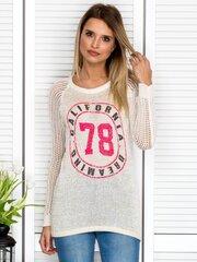 Megztinis moterims, rusvas kaina ir informacija | Megztiniai moterims | pigu.lt