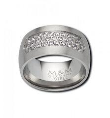 Žiedas moterims M&M, MR3322-154 kaina ir informacija | Žiedai | pigu.lt