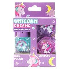 Mini makiažo rinkinys mergaitėms Martinelia Unicorn Dreams kaina ir informacija | Kosmetika vaikams ir mamoms | pigu.lt