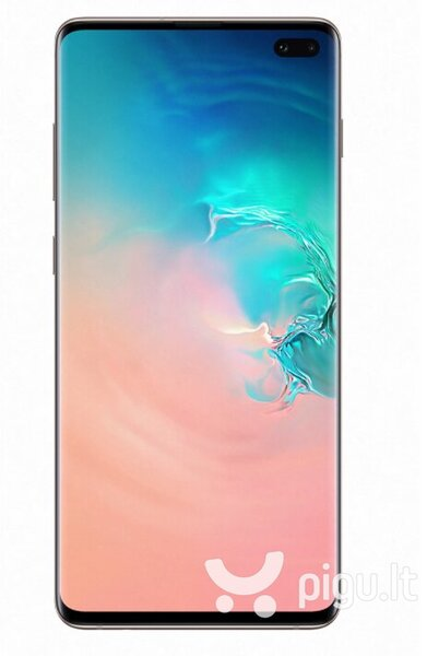 Samsung Galaxy S10 Plus, 128 GB, Dual SIM, Prism White