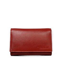 Piniginė moterims, raudona kaina ir informacija | Piniginės, kortelių dėklai moterims | pigu.lt