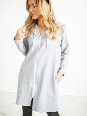 Džemperis moterims, pilkas kaina ir informacija | Džemperiai moterims | pigu.lt