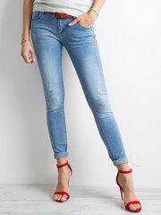 Синие джинсы цена и информация | Женские джинсы | pigu.lt