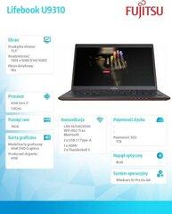 Fujitsu Lifebook U9310 (U9310MC7DMPL) kaina ir informacija | Nešiojami kompiuteriai | pigu.lt