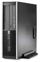 HP 8100 Elite SFF i3-540 8 GB 250 GB HDD Windows 10 kaina ir informacija | Stacionarūs kompiuteriai | pigu.lt