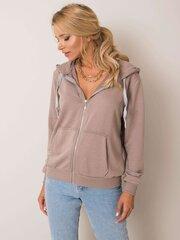 Džemperis moterims, šviesiai rudas kaina ir informacija | Džemperiai moterims | pigu.lt