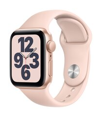 Išmanusis laikrodis Apple Watch SE (GPS, 40 mm) - Gold Aluminum Case with Pink Sand Sport Band kaina ir informacija | Išmanusis laikrodis Apple Watch SE (GPS, 40 mm) - Gold Aluminum Case with Pink Sand Sport Band | pigu.lt