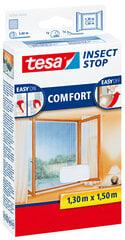 Apsauginis tinklelis langams nuo vabzdžių TESA COMFORT baltas 1,3mx1,5m