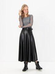 Marškinėliai moterims ilgomis rankovėmis Simona Conti, pilki kaina ir informacija | Marškinėliai moterims | pigu.lt