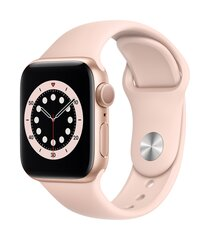 Išmanusis laikrodis Apple Watch Series 6 (GPS, 40 mm) - Gold Aluminium Case with Pink Sand Sport Band kaina ir informacija | Išmanusis laikrodis Apple Watch Series 6 (GPS, 40 mm) - Gold Aluminium Case with Pink Sand Sport Band | pigu.lt