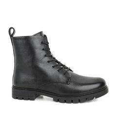 Aulinukai moterims Lorenzo, juodi kaina ir informacija | Aulinukai, ilgaauliai batai moterims | pigu.lt