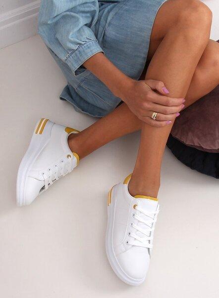 Sportiniai batai moterims, balti kaina
