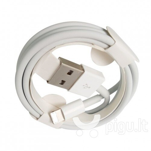 USB kabelis Apple iPhone 7 MD818 Lightning HQ2, 1.0m