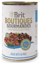 Brit Care Boutiques Gourmandes antienos gabalėliai ir paštetas, 400 g