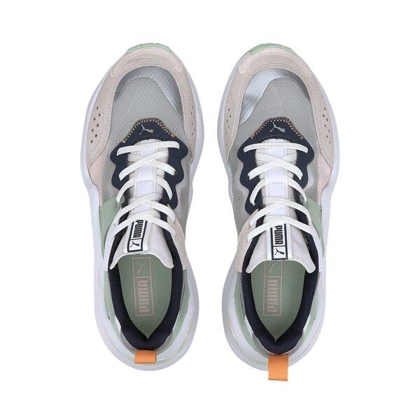 Laisvalaikio batai moterims Puma Rise Wn's White-Mist Green-Can 37177701, balti atsiliepimas