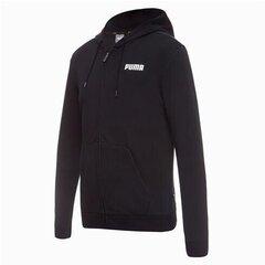 Laisvalaikio bliuzonas vyrams Puma ESS FZ Hoody TR Cotton 85475901, juodas kaina ir informacija | Džemperiai vyrams | pigu.lt