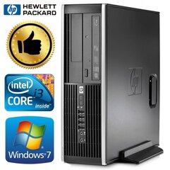 HP 8100 Elite SFF i3-550 8GB 120SSD+320GB GT1030 2GB DVD WIN7Pro kaina ir informacija | Stacionarūs kompiuteriai | pigu.lt