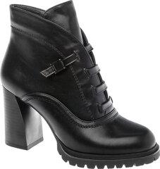 Aulinukai moterims Betsy, juodi kaina ir informacija | Aulinukai, ilgaauliai batai moterims | pigu.lt