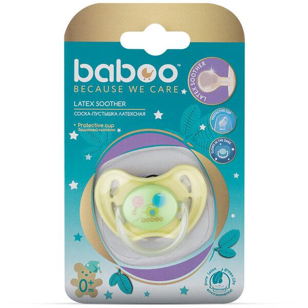 Baboo lateksinis naktinis čiulptukas, Baby Shower, 0+ mėn kaina