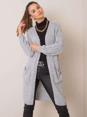 Megztinis moterims, pilkas kaina ir informacija | Megztiniai moterims | pigu.lt
