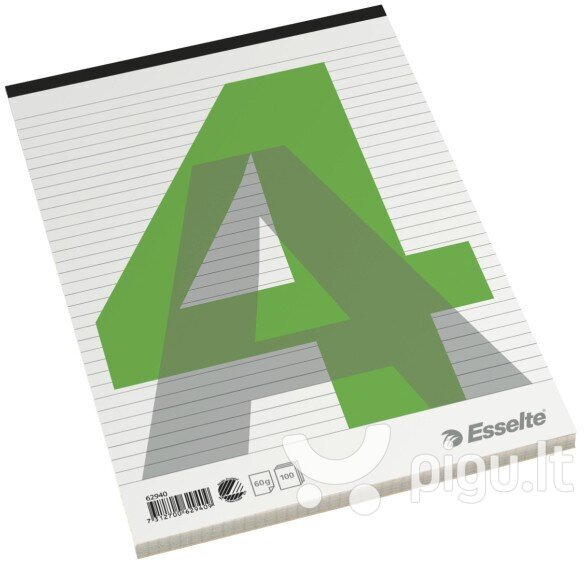 Bloknotas Esselte, A4, 100 lapų
